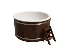 """Купель круглая """"Классик"""" для бани (дуб) 1,95x1,1м"""