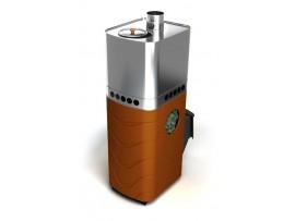 Банная печь Термофор Бирюса 2013 Carbon ДА ЗК терракота