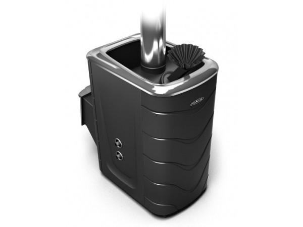 Банная печь Термофор Гейзер 2014 Inox ДН ЗК ТО антрацит