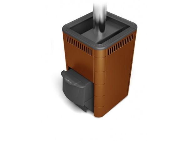 Банная печь Термофор Карасук Carbon ДА КТК терракота