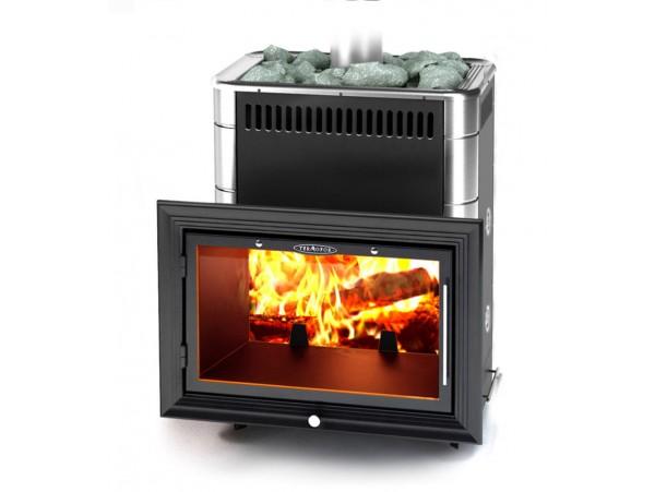 Банная печь Термофор Витрувия Carbon БСЭ ТО антрацит НВ