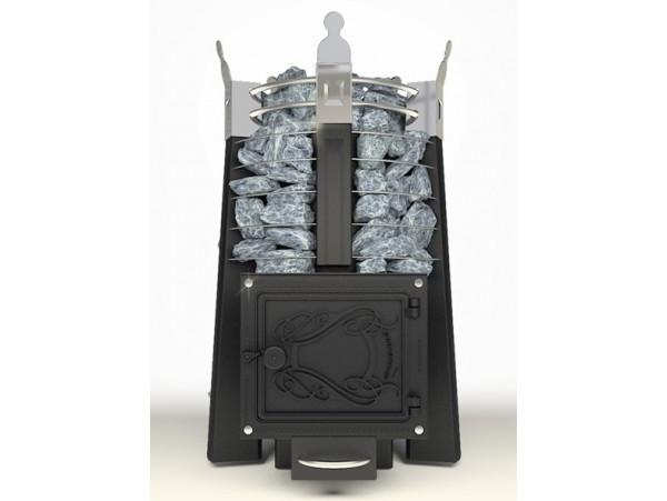 Банная печь Добросталь Августа стоун стронг