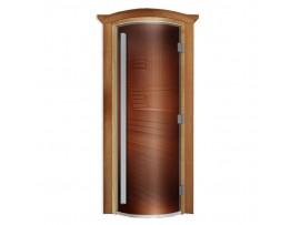 Дверь для бани Doorwood Престиж 700*1900, стекло бронза (ольха)