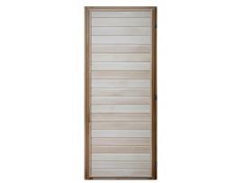 Дверь деревянная 1700*700 липа, 3 петли (коробка-хвоя) сорт В