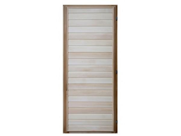 Дверь деревянная 1900*700 липа, 3 петли (коробка-хвоя) сорт В
