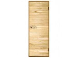 Дверь деревянная Эконом 1800*700 липа, 3 петли (коробка-хвоя) сорт С