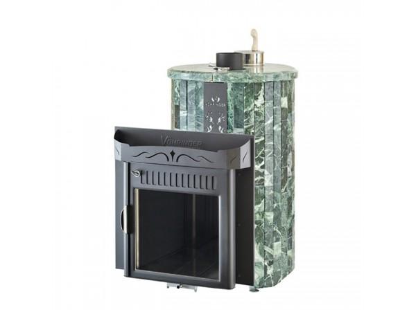 """Банная печь Ферингер Макси """"до 30 м³"""", с закрытой каменкой (Змеевик - наборная ламель)"""