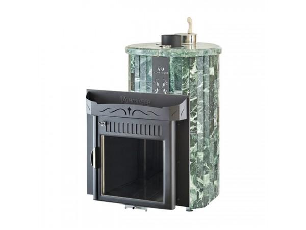 Банная печь Ферингер Мини Экран, с закрытой каменкой (Змеевик - наборная ламель)