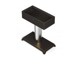 Дровяной мангал-монопод Термофор Твистер Лайт (черная бронза)